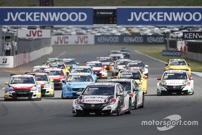 Start: Norbert Michelisz, Honda Racing Team JAS, Honda Civic WTCC leads