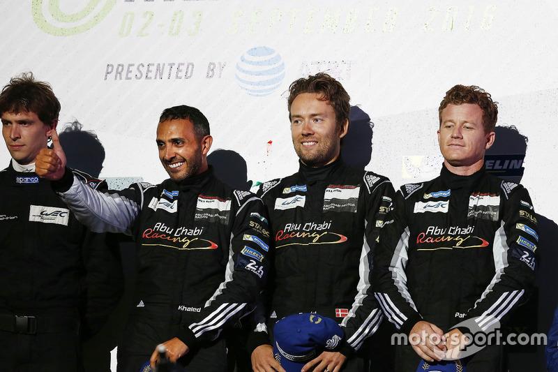 LM GTE Am, 1. Platz Khaled Al Qubaisi, David Heinemeier Hansson, Patrick Long, Proton Racing