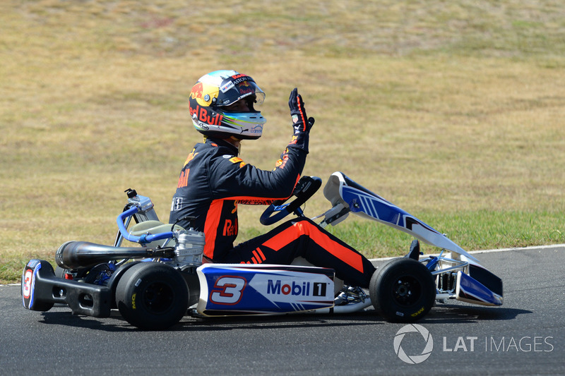 Daniel Ricciardo, Red Bull Racing, Go Kart Club Victoria'da