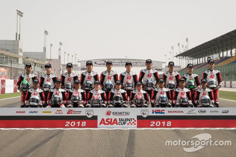 Grup Foto Asia Talent Cup 2018