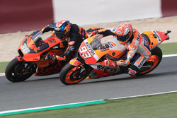 Marc Marquez, Repsol Honda Team, Bradley Smith, Red Bull KTM Factory Racing