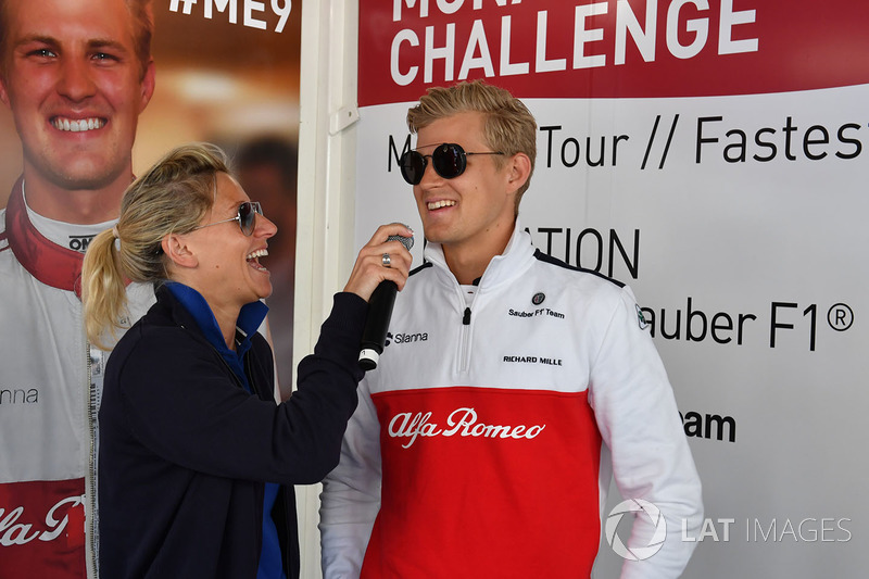 Marcus Ericsson, Sauber at the Monaco GP Challenge