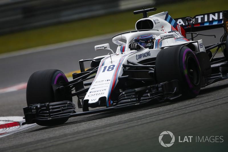 14. Lance Stroll, Williams FW41 Mercedes