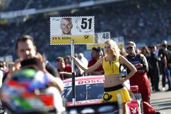 Грид-герл Нико Мюллера, Audi Sport Team Abt Sportsline, Audi RS 5 DTM