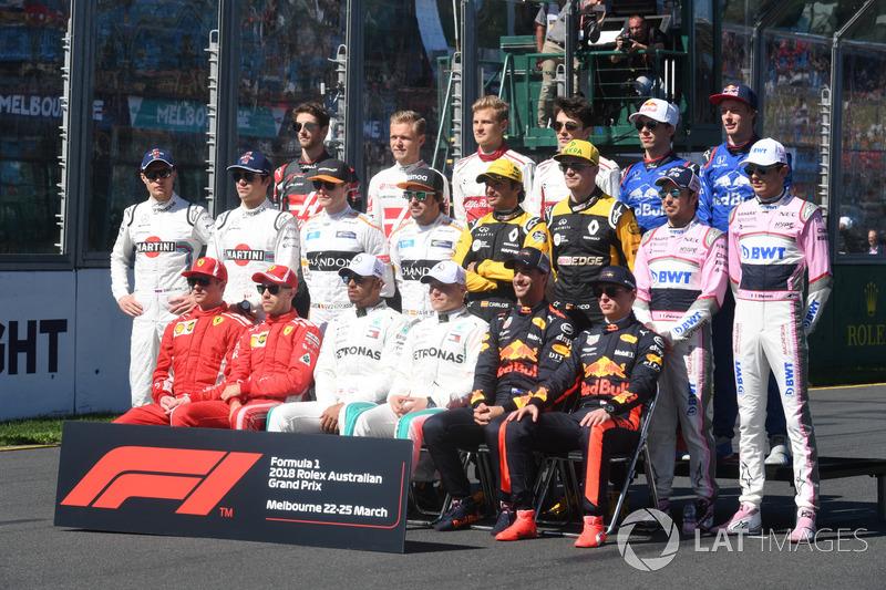 Tussenrapporten F1 2018