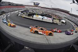 Kyle Busch, Joe Gibbs Racing, Toyota Camry and Daniel Suarez, Joe Gibbs Racing, Toyota Camry ARRIS