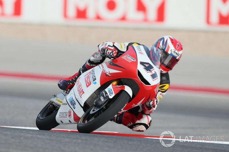 Nakarin Atiratphuvapat, Honda Team Asia.
