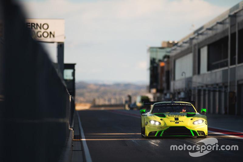 Test Aston Martin Racing