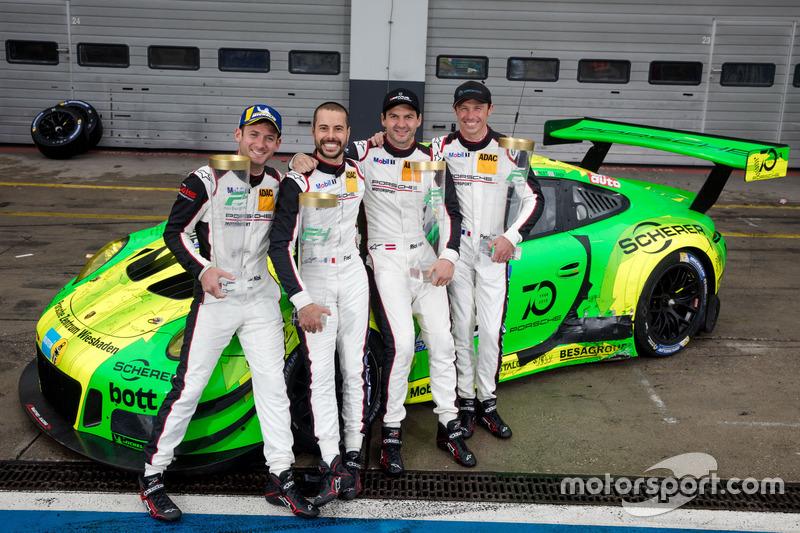24 horas de Nürburgring: Richard Litz, Patrick Pilet, Nick Tandy, Frederic Makowiecki, Manthey Racing, Porsche 911 GT3 R
