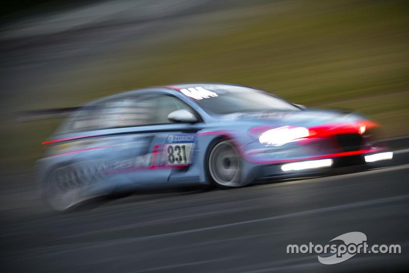 #831 Hyundai Motorsport N Hyundai i30N TCR: Nicola Larini, Manuel Lauck, Andreas Gülden, Peter Terting
