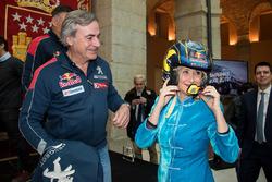 Carlos Sainz, Peugeot Sport, Cristina Cifuentes, Community of Madrid Başkanı
