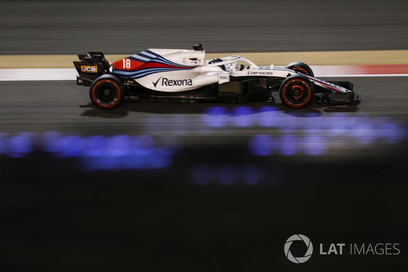 20. Lance Stroll, Williams FW41 Mercedes