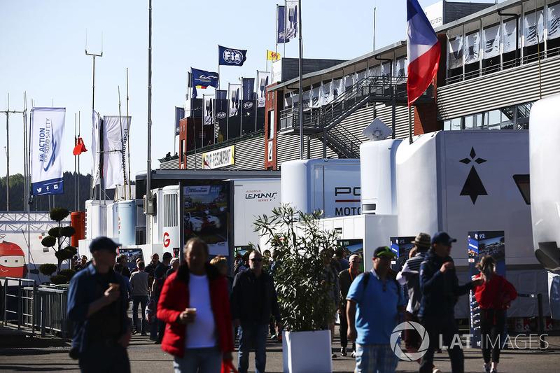 WEC Paddock de Spa Francorchamps