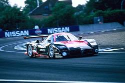 #23 Nissan R390 GT1, Nissan Motorsport, Kazuyoshi Hoshino, Érik Comas, Masahiko Kageyama