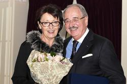 Paul Gutjahr con sua moglie
