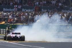Sergio Perez, Force India VJM11, spint bij de start