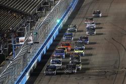 Restart: Christopher Bell, Kyle Busch Motorsports Toyota, Noah Gragson, Kyle Busch Motorsports Toyot