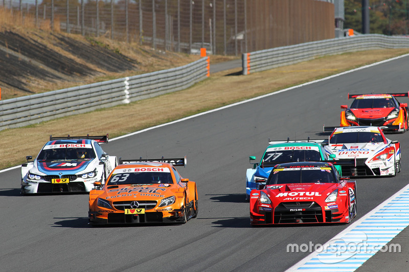Demo run of Super GT and DTM