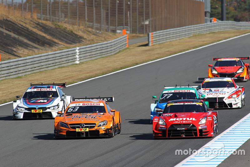 Demo DTM en Super GT