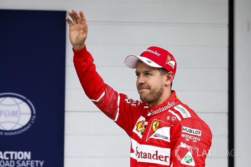 Vettel, el que más veces salió en primera fila
