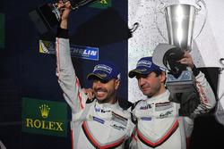 Podium GTE Pro: second place Richard Lietz, Frederic Makowiecki, Porsche GT Team