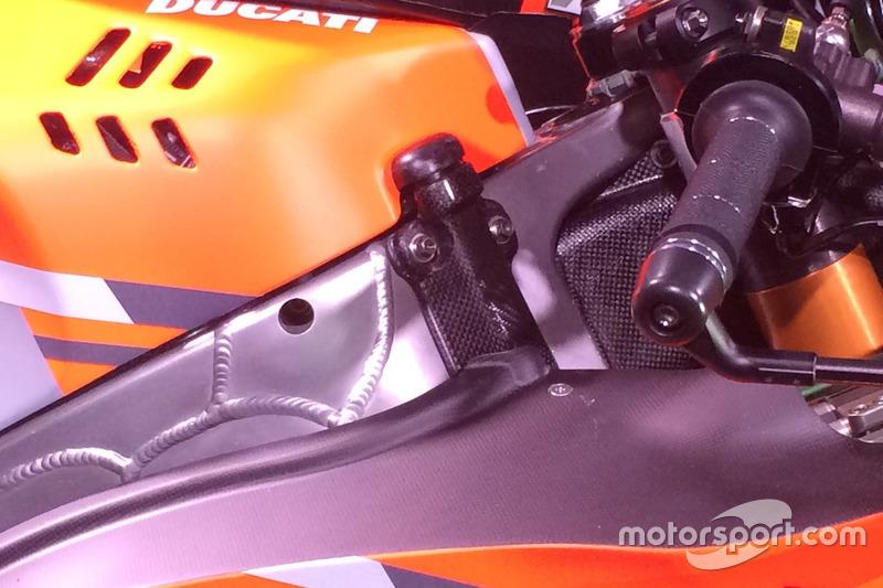 Maneta del gas de la Ducati Desmosedici GP 18