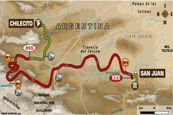 Етап 12: Чілесіто - Сан-Хуан (позашляховики, вантажівки)