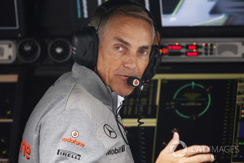 Martin Whitmarsh, Team Principal, McLaren