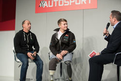 Terry Grant, stunt driver, and Billy Monger