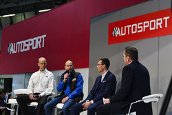 Ford's Mark Rushbrook, Ben Taylor of Wales Rally GB and Oliver Ciesla of the WRC, discuss the championship's state of play with Henry Hope-Frost