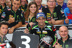 Third place Johann Zarco, Monster Yamaha Tech 3