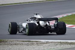Valtteri Bottas, Mercedes-AMG F1 W09, aero sensors