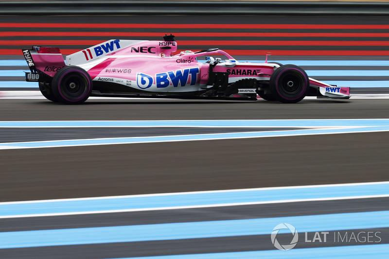 13: Sergio Perez, Force India VJM11, 1'32.454