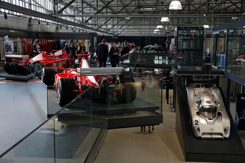Michael-Schumacher-Ausstellung in Köln