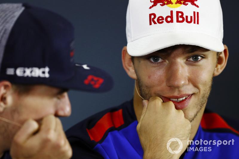 П'єр Гаслі, Toro Rosso, Макс Ферстаппен, Red Bull Racing