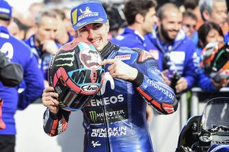 Pole: Maverick Viñales, Yamaha Factory Racing