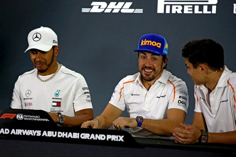 Льюіс Хемілтон, Mercedes AMG F1, Фернандо Алонсо, Ландо Норріс, McLaren