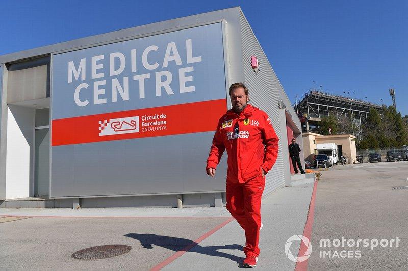 Gino Rosato, Ferrari, al Centro Medico