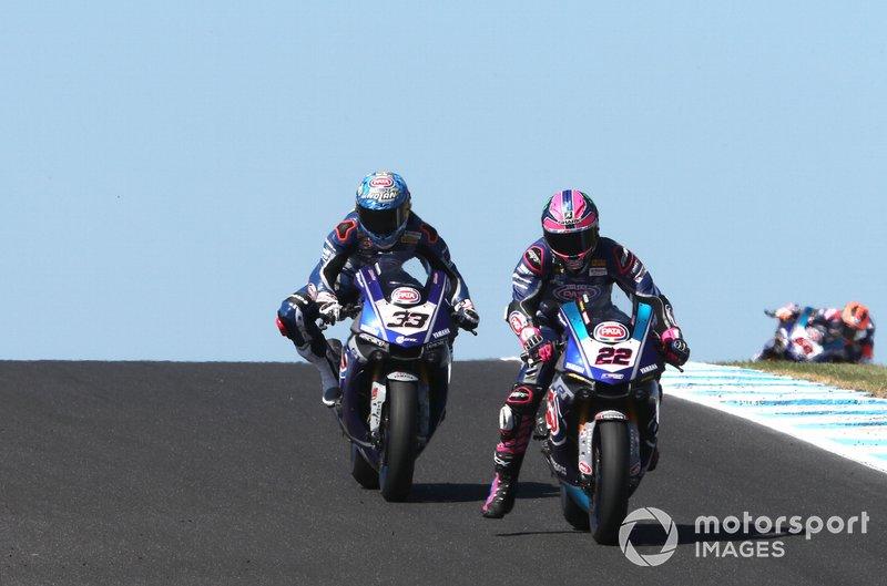 Алекс Лоус, Pata Yamaha, Марко Меландрі, GRT Yamaha WorldSBK