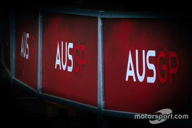 Insegne del GP d'Australia