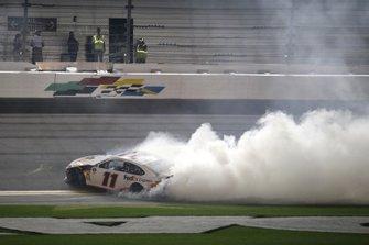 1. Denny Hamlin, Joe Gibbs Racing, Toyota Camry FedEx Express