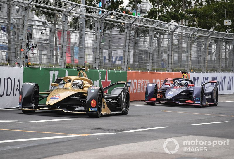 Andre Lotterer, DS TECHEETAH, DS E-Tense FE19 Sam Bird, Envision Virgin Racing, Audi e-tron FE05