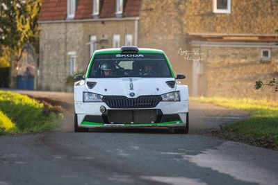Test de Oliver Solberg - Rally Ypres