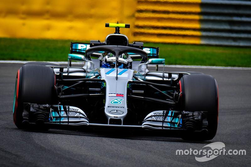 17. Валттери Боттас, Mercedes AMG F1 W09 – штраф за замену силовой установки