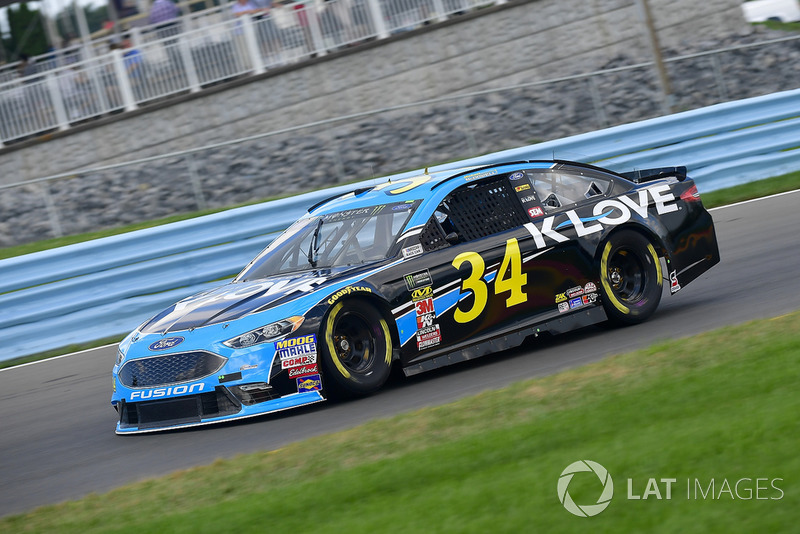 12. Michael McDowell, Front Row Motorsports, Ford Fusion K-LOVE RADIO