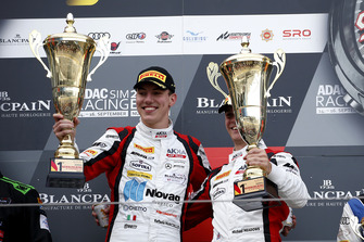 Podium: Winners #88 Akka ASP Team Mercedes-AMG GT3: Raffaele Marciello, Michael Meadows