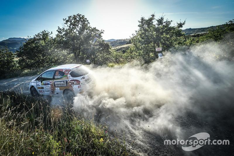 Stefano Strabello, Davide Bianchi, Peugeot 208 R2B, Destra 4