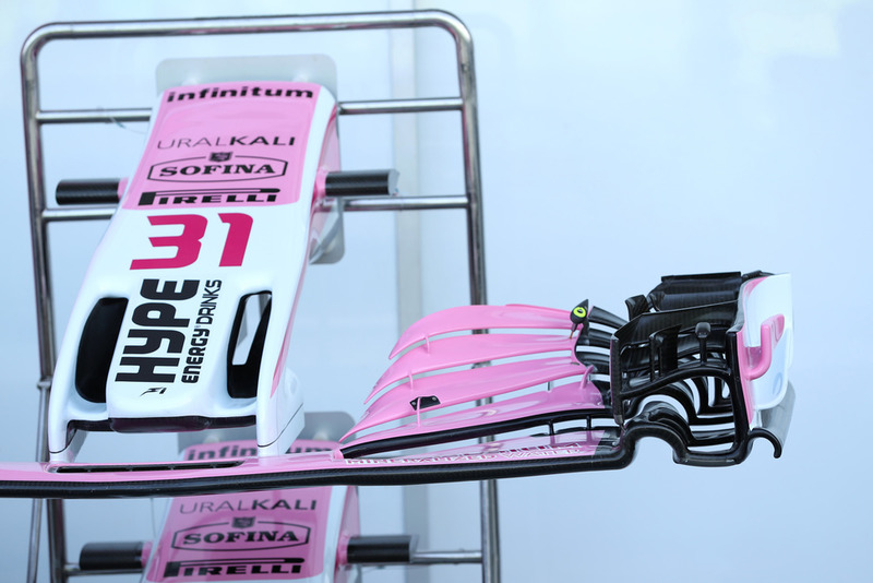 Racing Point Force India VJM11 front wing
