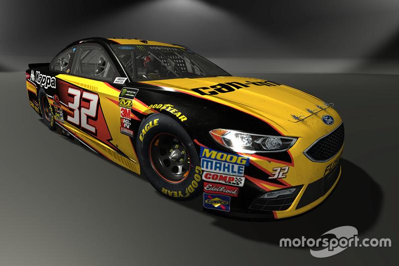 Matt DiBenedetto, Go FAS Racing, Ford Fusion - NASCAR Heat 3 skin