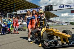 Nico Hülkenberg op de grid
